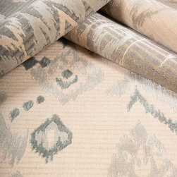 Showroom Products - New product alert!  Made of wool and faux silk.  Offered as area rugs and wall to wall installed carpet.  Patan is part of our Nepal Collection.