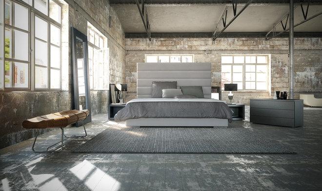 Modern Beds by TRIBECA DECOR