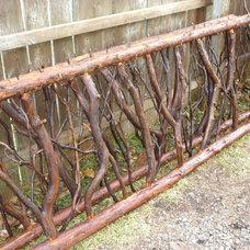 Rustic Fencing by Hearthwoods Custom Furnishings