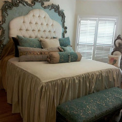 Custom Headboard & Bedding - Custom Headboard & Bedding
