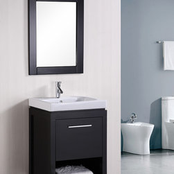"24"" New York Single Bath Vanity (DEC091A) -"