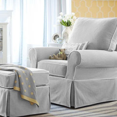 traditional rocking chairs and gliders by Pottery Barn Kids