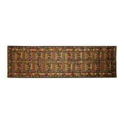 Manhattan Rugs - New Geometric-Floral Arts Persian Runner Baluch 00% Wool Hand Knotted Rug Free - They have a very distinctive type of rugs recognizable at a glance. Anyone remotely familiar with oriental rugs could hardly mistake a typical example