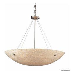Elk Lighting 8888/8 8 Light Bowl Pendant Stonybrook Collection -