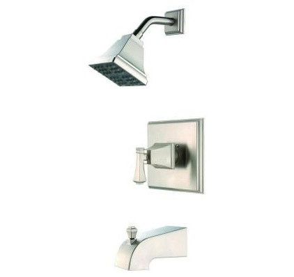 modern showers by Home Depot