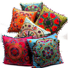 Eclectic Decorative Pillows by Amazon