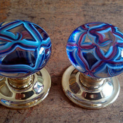 eclectic knobs by Merlin Glass