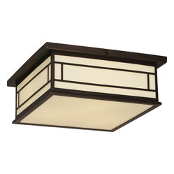 Candler Outdoor Flushmount Light