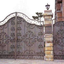 Iron Gates - Grunburg Custom Windows and Doors, Custom Iron Works