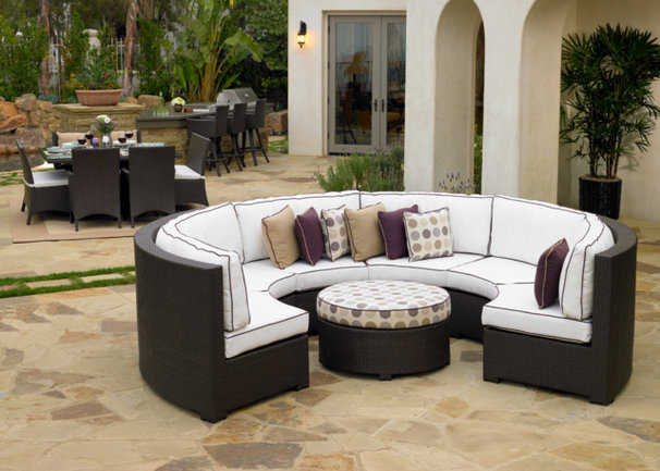 Contemporary Outdoor Sofas by All Backyard Fun