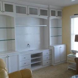 Custom Entertainment Center -