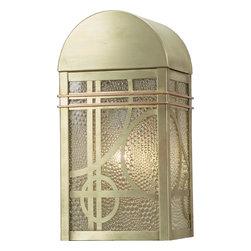 "Meyda Lighting - Meyda Lighting 9"" W Deco Wall Sconce - -Height: 13"""