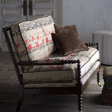 Eclectic Love Seats by Horchow