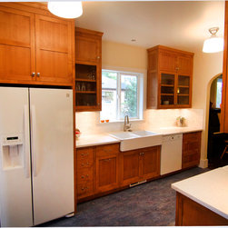 FSC certified Stained Alder Traditional Kitchen - GC by Brand X