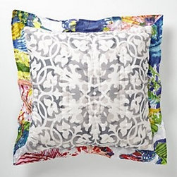 Anthropologie - Roseland Euro Sham - *Part of our Hothouse Quilt collection