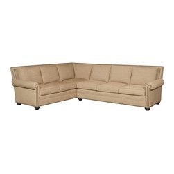 Vanguard Furniture - Vanguard Furniture Simpson Left Corner Sofa 651-LCS - Vanguard Furniture Simpson Left Corner Sofa 651-LCS