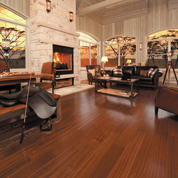 Mirage Floors - Mirage Floors Exotic Collection African Mahogany Brass