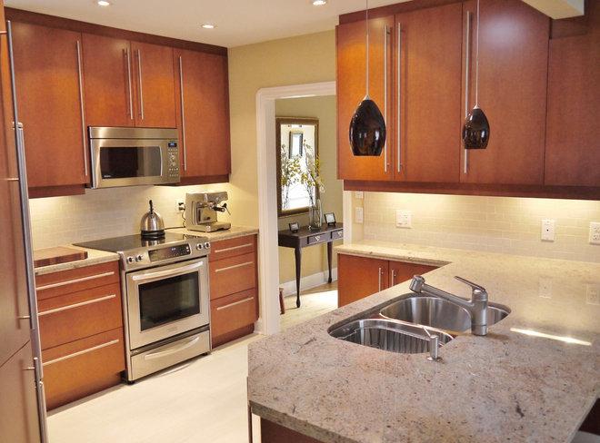 Contemporary Kitchen by Marcon Kitchens & Bath Studio