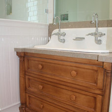 beach style bathroom sinks by Core Development Group, Inc.