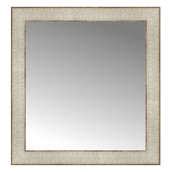 """Posters 2 Prints, LLC - 17"""" x 18"""" Libretto Antique Silver Custom Framed Mirror - 17"""" x 18"""" Custom Framed Mirror made by Posters 2 Prints. Standard glass with unrivaled selection of crafted mirror frames.  Protected with category II safety backing to keep glass fragments together should the mirror be accidentally broken.  Safe arrival guaranteed.  Made in the United States of America"""