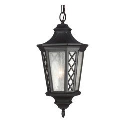Murray Feiss - Murray Feiss OL9511TXB Wembley Park 3 Bulb Textured Black Outdoor Lantern Hangin - Murray Feiss OL9511TXB Wembley Park 3 Bulb Textured Black Outdoor Lantern Hanging