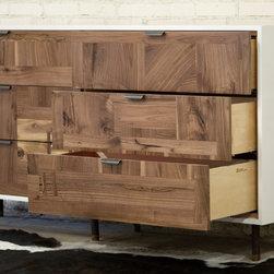 Patchwork Walnut Dresser - David Williams