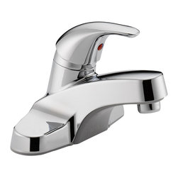 Delta Single Handle Lavatory Faucet - P131LF - Sensible styling that complements any home.