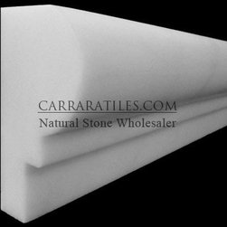 Bianco Dolomiti Marble Italian White Dolomite Ogee 1 Chairrail Molding Polished - White Dolomite Marble Ogee Chairrail Molding also known as bianco dolomiti Ogee Chairrail Molding Marble. Available in polished finish, highest quality Italian marble Ogee Chairrail Molding, perfect for both residential and commercial projects (kitchen renovation, shower remodeling, renovating bathroom, backsplash, flooring, cladding walls). Ogee Chairrail Moldings mainly preffered for its clean, aesthetic qualities. A large selection of coordinating products are available and includes marble subway tiles, basketweave mosaics, hexagon mosaics, herringbone mosaics, square tiles, rectangle tiles and baseboards