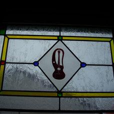 new kitchen windows, joe fixing van 017.JPG