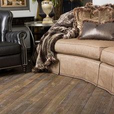 Rustic Hardwood Flooring by Heppner Hardwoods, Inc.