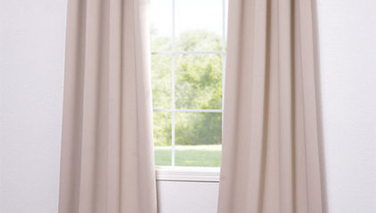 Grommet Eggnog Blackout Curtain (Item Code: BOCH-120601-GR)