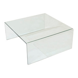 Lenox Glass Coffee Table -