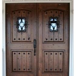 Estancia Entry Doors - Estancia double door by The Front Door Company.
