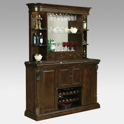 Howard Miller - Howard Miller Niagara Home Bar - HMI853 - Shop for Bars and Bar Sets from Hayneedle.com! The Howard Miller StoryIncomparable workmanship unsurpassed quality and a quest for perfection - these were the cornerstones of the company Howard C. Miller founded back in 1926 at the age of 21. Even then Howard Miller understood the need to make products that would be steeped in quality and value. In 1989 Howard Miller began creating collectors' cabinets with the same attention to detail and craftsmanship inherent in their clock-making. Fashioned from glass and hardwoods Howard Miller cabinets are ideal for displaying heirlooms plates glassware and other collectibles. A highly respected brand Howard Miller maintains its popularity because of the company's commitment to quality. Every product manufactured at the company's sprawling facility in Zeeland Michigan undergoes stringent tests and exceeds industry standards to ensure a lifetime of enjoyment.