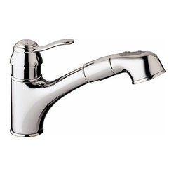 Grohe - Grohe Ashford Pull-Out Spray, Chrome (32 459 000) - Grohe 32 459 000 Ashford Pull-out Spray, Chrome