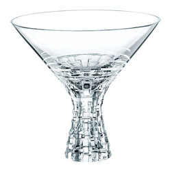 Nachtmann - Nachtmann Dancing Stars Bossa Nova Martini 12 oz, set of 2 - Really shake things up at your next cocktail affair. This stunning lead crystal martini glass (sold in pairs) holds a substantial 12 ounces and looks dazzling doing so.