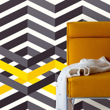 Contemporary Wallpaper by Fabric House