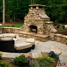 Traditional Patio by FireRock Products