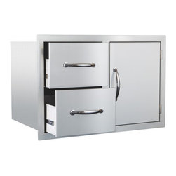 Summerset - Door/2-Drawer Combo - 304 Stainless Steel Construction
