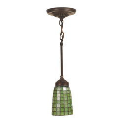 "Meyda Lighting - Meyda Lighting 102091 4.5""W Terra Verde Mini Pendant - Meyda Lighting 102091 4.5""W Terra Verde Mini Pendant"