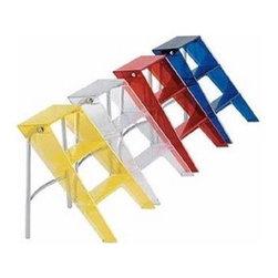 Kartell - Upper Step Ladder - Quick Ship | Kartell - Design by Alberto Meda.