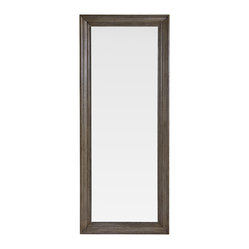 Mitchell Gold + Bob Williams - Pierce Floor Mirror - This elongated mirror will have you looking good from head to toe. Use it in the master bedroom to make sure everything is in place — or in the foyer to grab a quick glance before heading on the door.