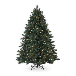 Bedford Falls Fir Christmas Tree - BASK IN THE NATURAL BEAUTY OF THE BEDFORD FALLS FIR CHRISTMAS TREE