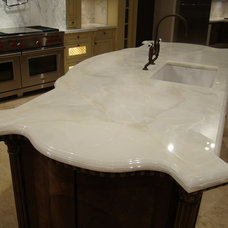 Traditional Kitchen Countertops by BECKER WORKS LTD