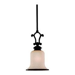 Sea Gull Lighting - Bronze Down Mini Pendant - This Down Mini Pendant has a Bronze Finish and is part of the Acadia Collection.
