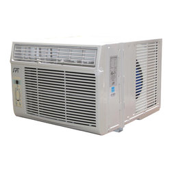 SPT - SPT 10,000BTU Energy Star Window AC - Perfect for cooling down a single room or studio. Window kit supplied for left and right side of unit - ideal for vertical opening windows. User-friendly controls and remote. Easy to remove washable air filter with helpful reminder.