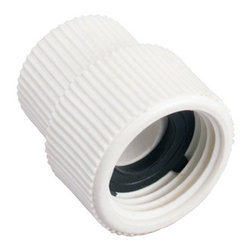 "Orbit - Orbit Female Thread 1/2"" Pipe x Hose - PVC Swivel Hoses to Pipe Fitting Adapter - This hose to pipe fitting from Orbit easily connects to a 1/2-inch irrigation pipe with female threading. This PVC pipe fitting is durably built for many years of pipe fitting use. Its swivel connection makes it easy to attach and use within minutes. For do-it-yourself projects, this is an excellent Orbit sprinkler part that attaches to PVC irrigation pipes. This pipe fitting easily attaches to a standard garden hose so you can use it quickly for all your lawn watering needs. This hose to pipe fitting allows you to customize your garden irrigation system to make it exactly what you need. Features and Benefits"