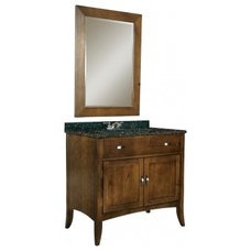 36 Inch Single Sink Bathroom Vanity with Choice of Top UVKI385360036