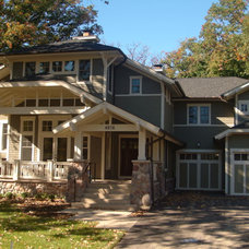 Traditional Exterior by Kevin Thomas Construction
