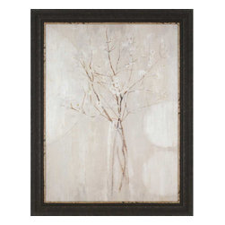 Paragon - Champagne Blossoms - Framed Art - Each product is custom made upon order so there might be small variations from the picture displayed. No two pieces are exactly alike.